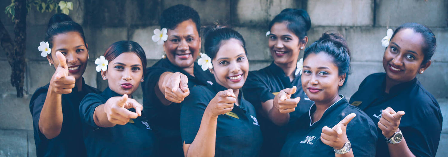 Day Spa Fiji Staff